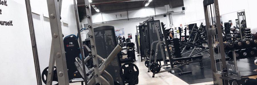 Några ändringar på gymmet